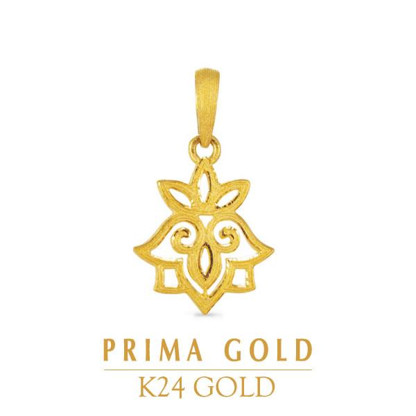 PRIMAGOLD プリマゴールド【送料無料】【GOLD DE LUXE(ゴールド・デ・ラックス)】【純金 ペンダント】 PRIMAGOLD 24K pendant【純金 ネックレス】 24k 24金 純金 ゴールド