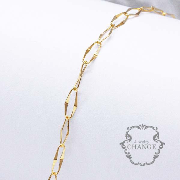 K18 18金 ファッション ジュエリー アクセサリー レディース 女性 ゴールド イエローゴールド 品質保証書 プレゼント ご褒美 サザンクロス カッコいい クール 大人 ブレスレット 夏