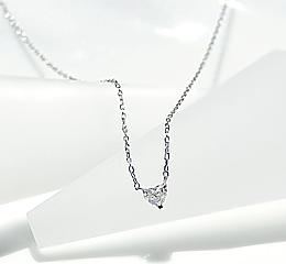 Pt900 ハートダイヤモンド ネックレス レディース ファッション ジュエリー アクセサリー 特別 大人かわいい ご褒美 限定