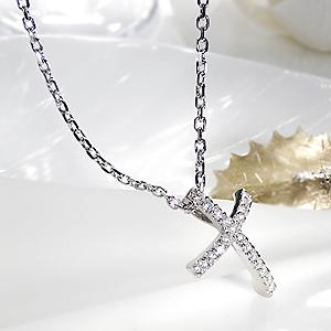 メンズ ダイヤモンド クロス ペンダント  送料無料 SV 男性用 メンズジュエリー ネックレス シルバー 銀 ギフト プレゼント ダイヤ ダイヤ ファッション