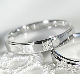 プラチナ900 ペアリング 結婚指輪 マリッジ 誓い 毎日つけられるシンプルリング