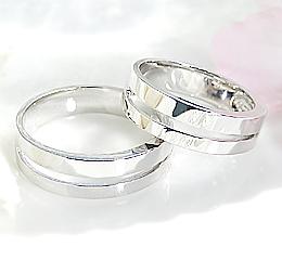 K10WG ペアリング ◆CLOVE◆ファッション ジュエリー アクセサリー レディース メンズ 指輪 リング 地金 ゴールド 送料無料 品質保証書 刻印無料 SIクラス プレゼント 記念日 ペア 結婚指輪 マリッジリング