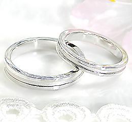 K10WG ペアリング◆MINTO◆ マリッジ 結婚指輪