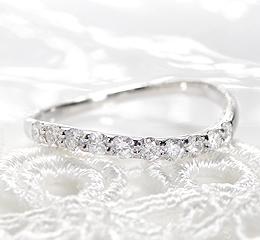 Pt900 テンダイヤモンド リングファッション ジュエリー アクセサリー レディース 指輪 リング プラチナ ダイヤモンド ダイア pt900 送料無料 品質保証書 刻印無料 重ねづけ SIクラス プレゼント 記念日