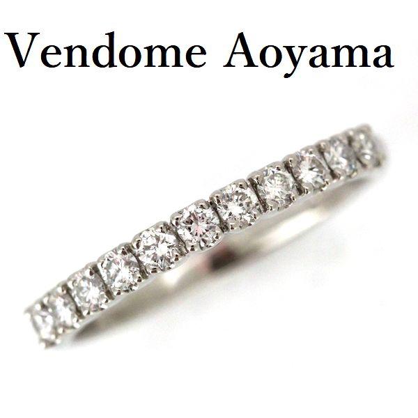 ヴァンドーム青山 ダイヤモンド 0.37ct リング Pt900 10号【中古】