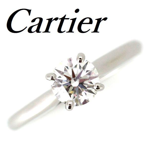 売上実績NO.1 カルティエ リング カルティエ ソリテール ダイヤモンド 0.62ct H-VS1-EX H-VS1-EX リング Pt950 ♯48【】, オンジュクマチ:cfc63435 --- content.houzerz.com