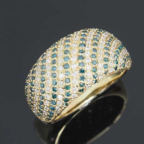 18金 ダイヤモンド 1.0ct 記念日 ブルーダイヤ ギフト パヴェリング K18YG イエローゴールド 指輪 1.0ct 0.65カラット ダイアモンド レディース プレゼント ギフト 記念日 誕生日, カミカワチョウ:23f6ec8c --- finact.net.au