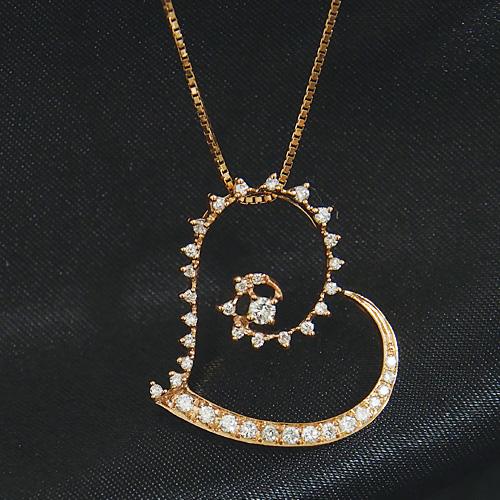 【20%OFF16日9:59まで】18金 ダイヤモンド0.3ctネックレス オープンハート ペンダント 0.3ctカラット K18WG ホワイトゴールド ダイアモンド レディース プレゼント ギフト 記念日 誕生日