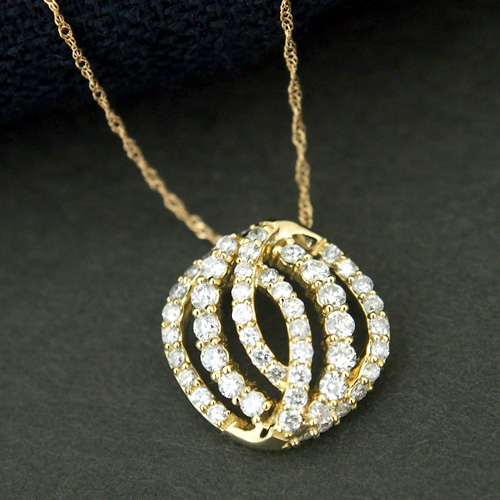 18金 ダイヤモンド0.6ct シードデザインネックレス ペンダント 0.6カラット K18WG ホワイトゴールド K18YG イエローゴールド K18PG ピンクゴールド ダイアモンド レディース 記念日 誕生日