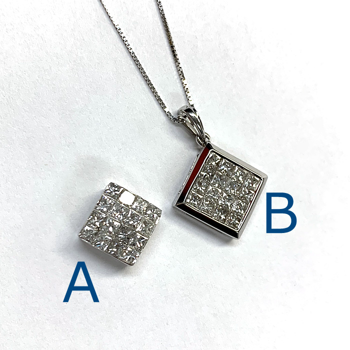 【確認ページ】K18 1.00ctダイヤモンドペンダント