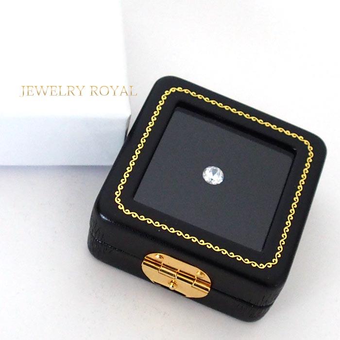 宝石を眺めて楽しむケース ルースケース 宝石入れ 高級 裸石 ディスプレイ 即納最大半額 レザーケース 黒 ブラック