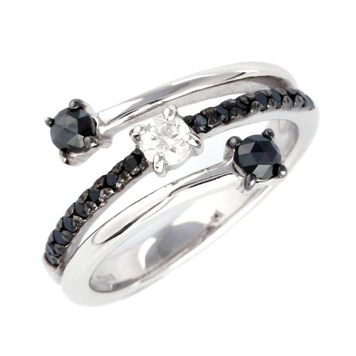 18金 ダイヤモンド0.4ct スリーストーンリング プレゼント K18WG ブラックダイヤモンド 指輪 指輪 0.4カラット ダイアモンド レディース ダイアモンド プレゼント ギフト 記念日 誕生日, PEN AND PAGE MARUYOSHI:b35d3ae8 --- finact.net.au