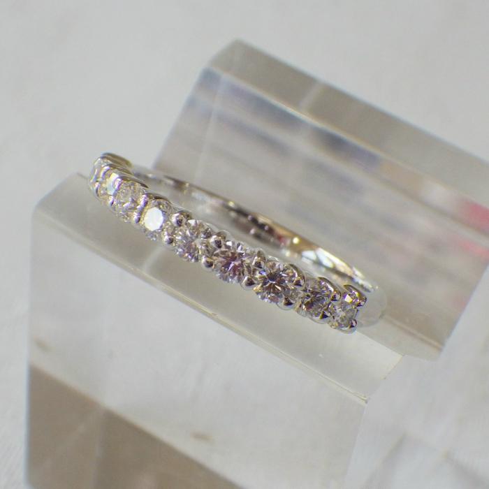 Pt900 エタニティリング 高品質新品 0.5ct プラチナ ダイヤモンド 婚約指輪 豪華 記念日 結婚指輪 人気商品