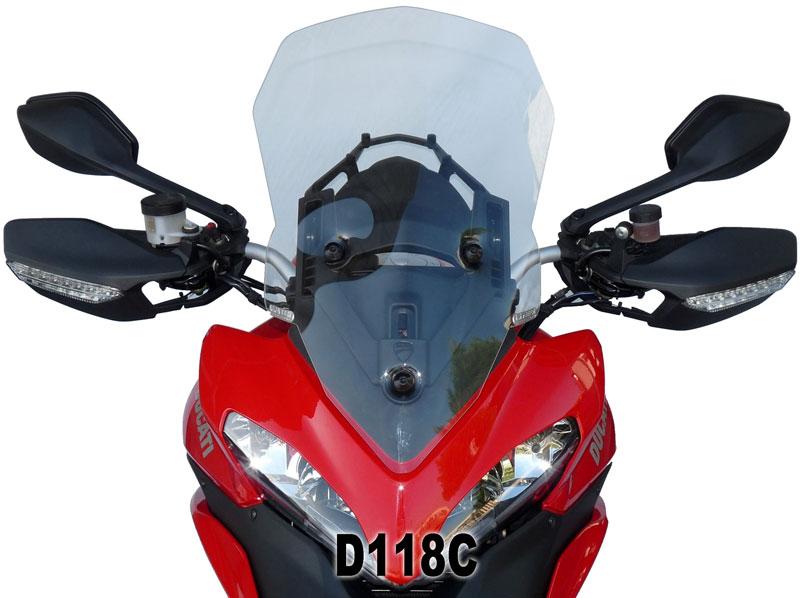 DUCATI ドゥカティ ムルティストラーダ1200-12 F.FABBRI クスクリーン カラー2色 イタリア製 新品未使用 バイク ツーリング