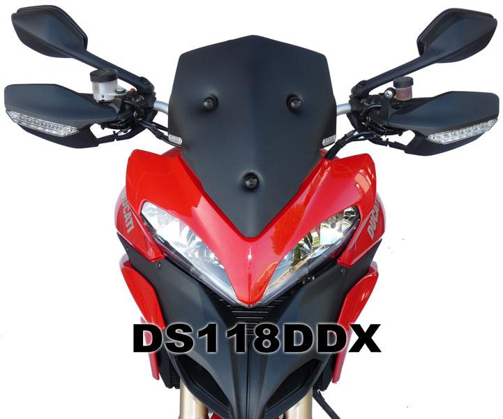 DUCATI ドゥカティ ムルティストラーダ1200-12 F.FABBRI ショートスクリーン カラー3色 イタリア製 新品未使用 バイク ツーリング