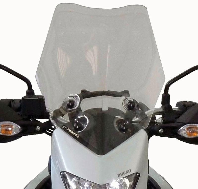 DUCATI ドゥカティ ハイパーストラーダ 821 939 F.FABBRI スクリーン イタリア製 新品未使用 バイク ツーリング