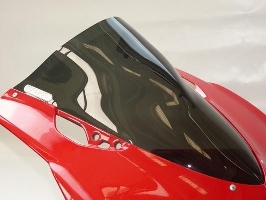 DUCATI ドゥカティ パニガーレ 13-14 1199 899 F.FABBRI Double Bubble スクリーン イタリア製新品未使用 バイク ツーリング