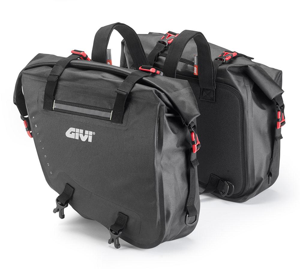 GIVI ジビ GRT708 防水サイドバッグ 15L×2 モタード オフロード バイクに DUCATI KTM BMW HUSQVARNA