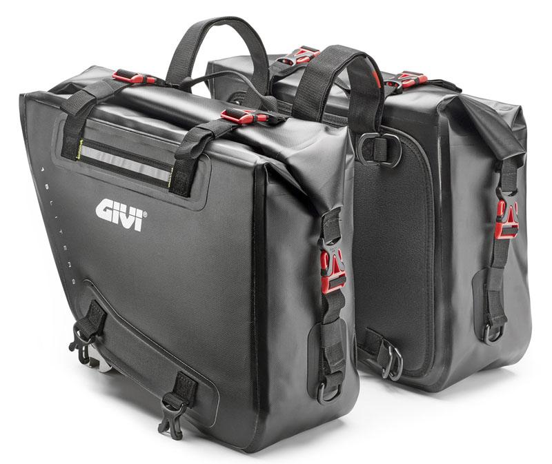 即納 2019年モデル GIVI ジビ GRT718 防水サイドバッグ 2×15L モタード オフロード バイクに DUCATI KTM BMW HUSQVARNA