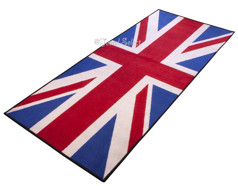 Union Jack イギリス国旗 バイクマット ガレージに お部屋のインテリアマットとしても 190cm×80cm