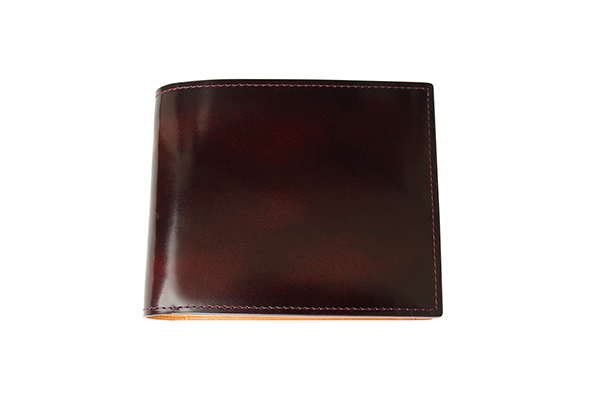 送料無料 二折財布 GREDEER アドバン 牛革 GCKA002E-Z ワイン ギフト対応