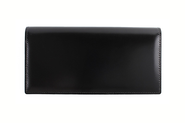 送料無料 長財布 GREDEER コードバン 馬革(コードバン) GCKC105A-Z ブラック ギフト対応