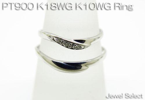 文字入れ1本1 800円 税別 K18WG ホワイトゴールド K10WG PT900 ギフト対応 ダイヤモンド 未使用 レディース プラチナ メンズ 買い物 ペアリング