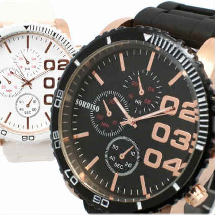 祝開店大放出セール開催中 祝日 直径約52mmのビッグケースが目を惹く腕時計 腕時計 メンズ ペアウォッチ かっこいい ビジネス プレゼント ビッグフェイスウォッチ 通勤 Jewel ジュエル 安い