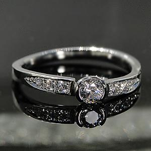 世界にひとつだけのリングをセミオーダーいたします。ファッション ジュエリー アクセサリー レディース 指輪 リング プラチナ ダイヤモンド エタニティ pt950 ダイアモンド 4月 誕生石 代引手数料無料 送料無料 品質保証書 プレゼント 0.2カラット フチあり 大粒 ウェーブ