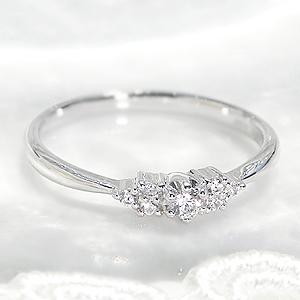ファッション・ジュエリー・アクセサリー・レディース・指輪・リング・プラチナ・ダイヤモンド・ダイヤ・pt950・重ねづけ・ダイア・4月誕生石・送料無料・品質保証書・ギフト・プレゼント・0.1ct・ダイヤモンドリング・細身