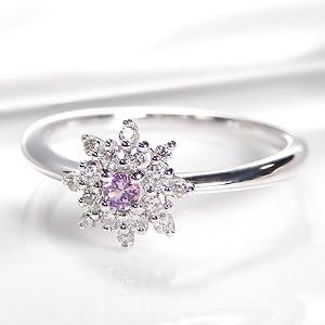 pt950 ピンクサファイア ダイヤモンドリング指輪 リング プラチナ サファイア ダイヤモンド おしゃれ 人気 可愛い 9月誕生石 送料無料 品質保証書付 ギフト プレゼント 刻印無料 クリスマス 花 フラワー