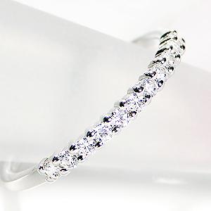 世界にひとつだけのリングをセミオーダーいたします。pt950【0.20ct】ダイヤモンド エタニティ リング プラチナ ダイヤモンド ダイア 華奢 人気 可愛い おしゃれ 記念日 プレゼント 代引手数料無料  品質保証書 普段使い 重ねづけ ハーフエタニティ Pt950 4月誕生石