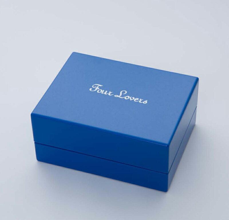 FourLovers オリジナルケース 高級桐箱 2本差し用 case 特殊なUV漆塗加工で仕上げたオリジナルケース 超激安特価 男女兼用