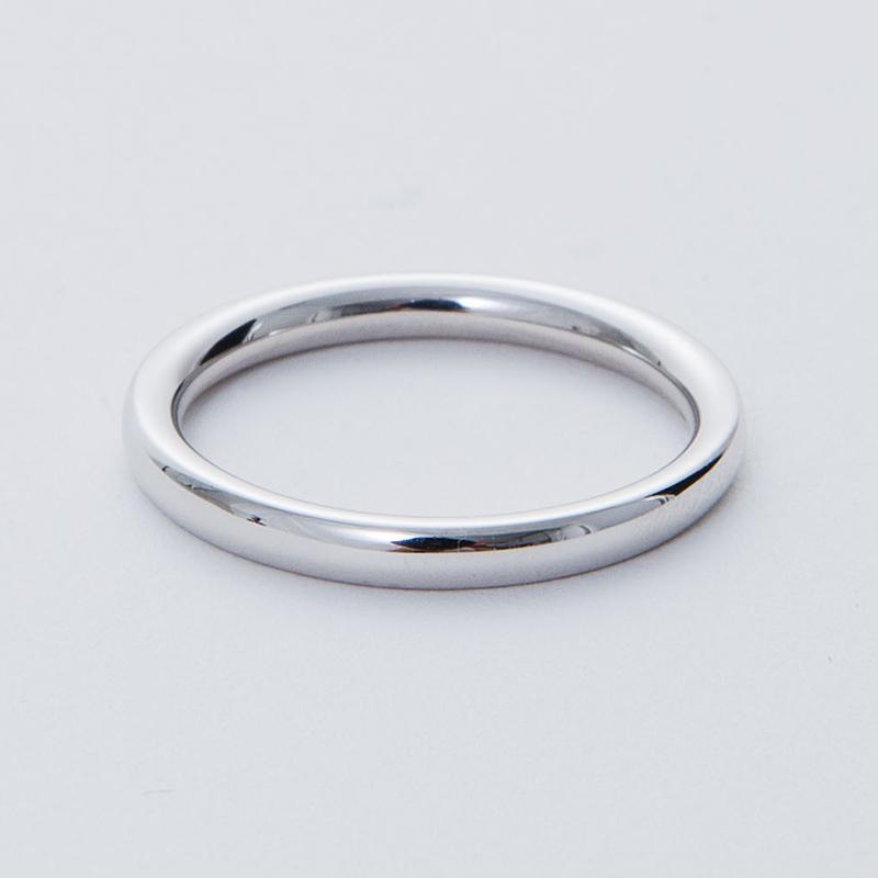 送料無料 最短納期 ブライダル ジュエリー プラチナ 結婚指輪 品質保証書 結婚記念日 プロポーズ リング 指輪 細め 太め 付け心地の良い 内甲丸 メンズ レディース ストレートライン セミラウンド ペアリング 2mm 代引手数料無料 シークレットストー