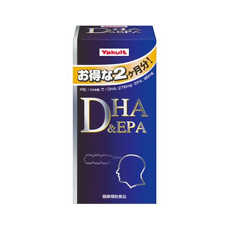 【送料一律340円】DHA&EPA 240粒 108g 徳用 お得な2ヶ月分! 【ヤクルトヘルスフーズ】