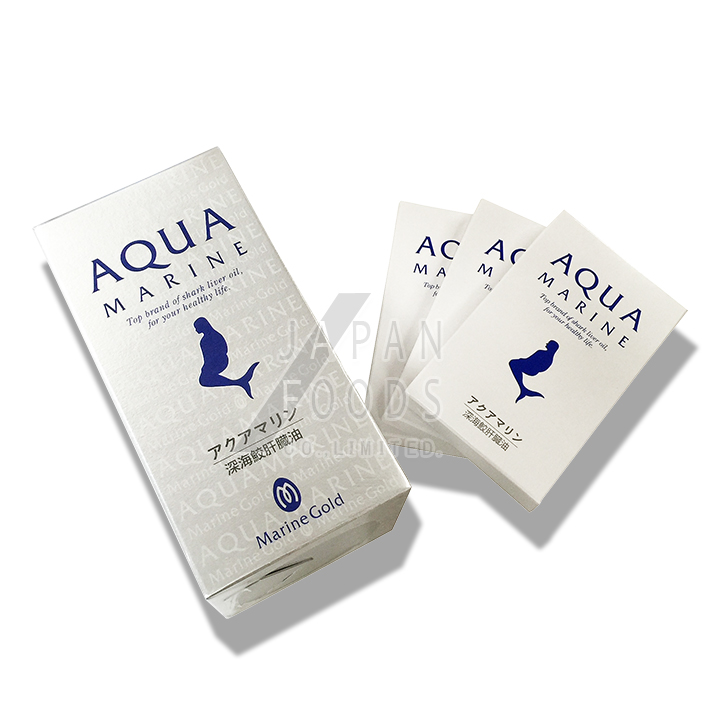 【送料無料】 株式会社マリンゴールド アクアマリン 360粒+30粒おまけ付き! 深海鮫肝油