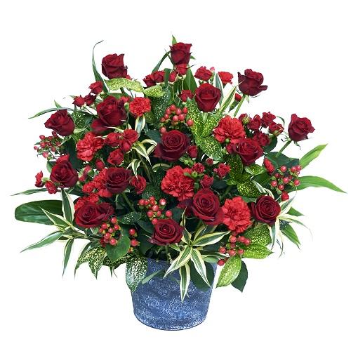 【豪華なアレンジ・バラ・ユリ】お祝い・お誕生日・結婚お祝・出産お祝・移転祝い・開店祝い・開業祝い・結婚記念日・お礼・発表会・季節のお花・お返しプレゼント・成人式・バレンタイン・ホワイトデー・退職祝い・入学祝いなど。