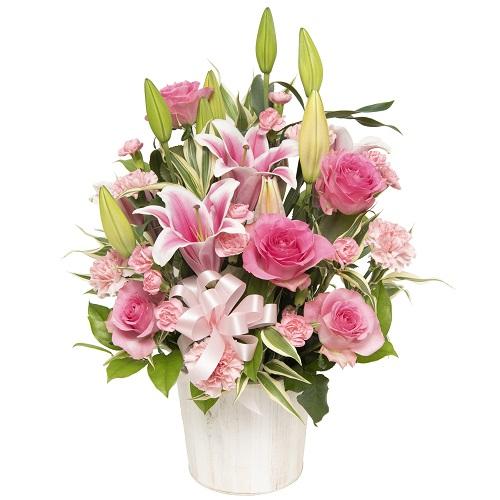 【春のお花・ユリ・バラ】お祝い・お誕生日・結婚祝・出産祝・開店祝・結婚記念日・お礼・発表会・季節のお花・お返しプレゼント・成人式・バレンタイン・ホワイトデー・退職祝い・入学祝い・卒業祝い・合格祝いなど。