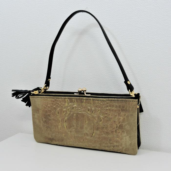 Prime★Mission 日本製(イタリア製ラム革)お財布バック