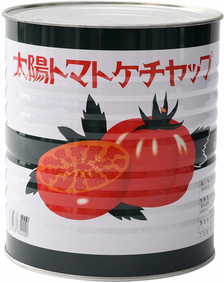 (送料無料-6缶セット)(M)太陽食品太陽ケチャップ 3.3Kg×6缶セット(代引不可・他の商品と混載不可)(北海道・沖縄・離島への発送は不可)