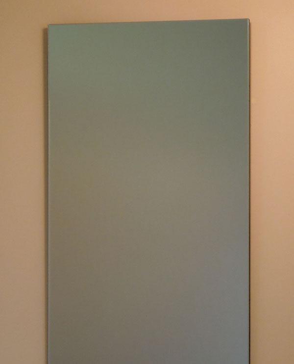 鏡 ミラー 壁掛け鏡 ウォール【JHAインテリアミラー】《デラックス》柄なし W400×H900(通常品)【飛散防止・壁掛け用】【完全防湿】 CM-40X90TF フレームレスミラー ノンフレーム 化粧鏡 玄関 洗面 トイレ 寝室 おしゃれ 店舗 モダン シンプル 四角