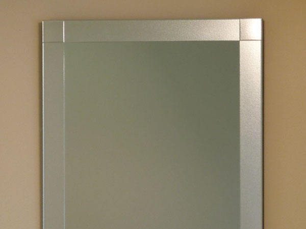 【送料無料】鏡 ミラー 壁掛け鏡 ウォールミラー【JHAデザインミラー】 シンプル4 【飛散防止・壁掛け用】W800×H800(フレームレスミラー ノンフレーム 化粧鏡 玄関 洗面 トイレ 寝室 おしゃれ 店舗)