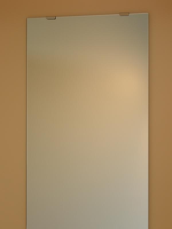 【送料無料】姿見 姿見鏡【JHAインテリアミラー】《デラックス》 柄なし W400×H1200(通常品)【ビス用】CM-40X120Tb(鏡 ミラー フレームレスミラー ノンフレーム 玄関 全身鏡 全身ミラー おしゃれ 店舗)