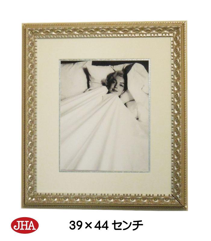 アートポスター 額絵 壁掛け【JHAアンティークフレーム】マリリン・モンロー8(アンティーク・シルバーフレーム)W387×H437 AA-M-8SL アートフレーム アート額絵 ウォールアート インテリア壁飾り 玄関 リビング 寝室 おしゃれ 店舗