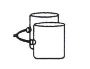【送料無料】アルカノ CT30 ベレサ(業務用)対応コンセラン エアーバック【ショートレッグ】【smtb-t】