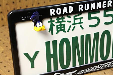 号码架子牌照架子螺栓安排道路赛跑者一般黑色ROAD RUNNER_BF-RR002-MON