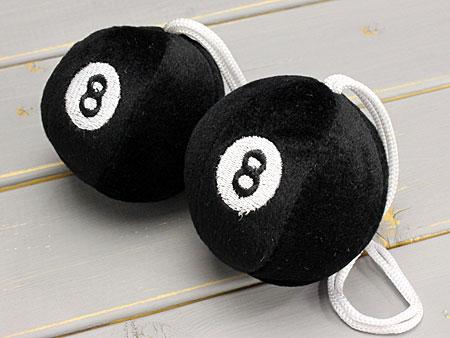 8球8BALL汽车配饰汽车用品房镜子装饰车_CA-FD0028B-MON
