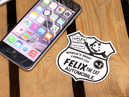 Felix the cat sticker car American Anime stylish motorcycle helmets cool Felix Toy gadgets cat car stickers FELIX THE CAT AUTO _SC-KGAZF422C-MON