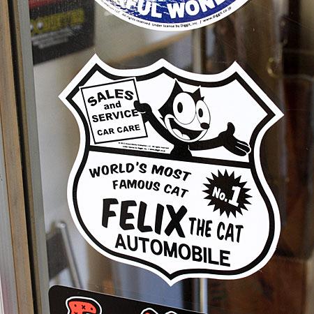 菲利克斯猫贴纸汽车美国动漫时尚摩托车头盔酷费利克斯玩具小玩意猫车贴费利克斯猫汽车 _SC-KGAZF422C-孟 (05P03Dec16)