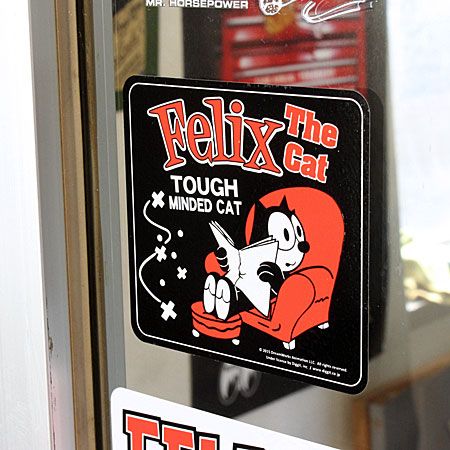 菲利克斯猫贴纸汽车美国动漫时尚摩托车头盔酷费利克斯玩具小玩意猫车贴费利克斯猫沙发 _sc-kazf422e-孟 (05P01Oct16)